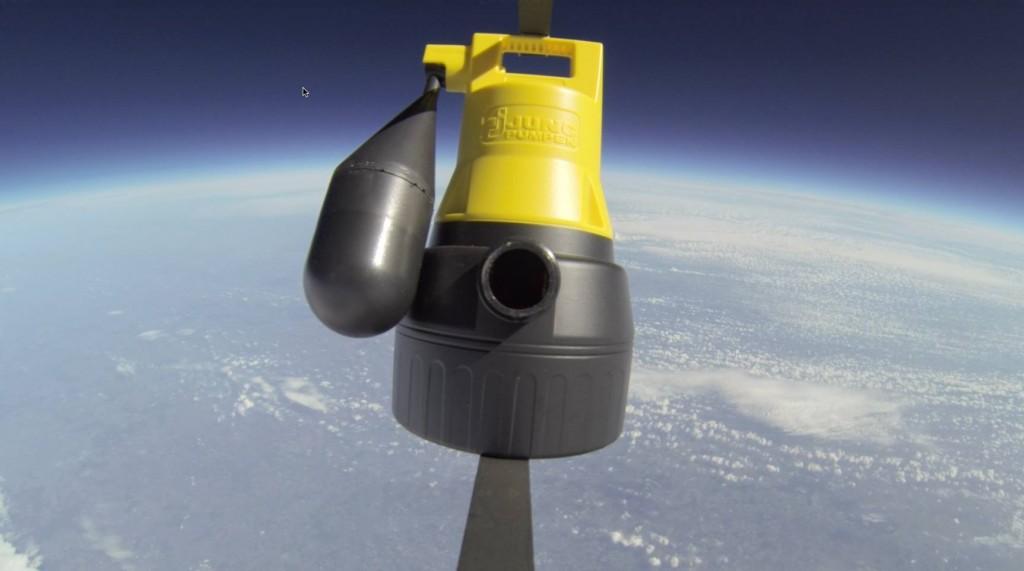 Pumpe in der Stratosphäre
