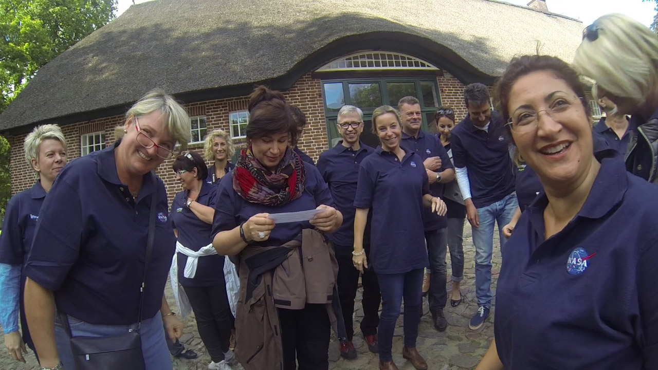 Teamevent - Wetterballon Start