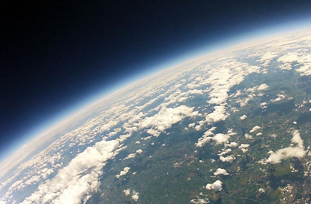 Wetterballon Kamera Seite