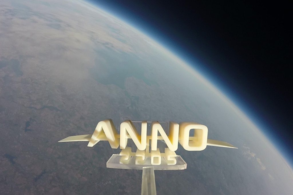 Anno Logo in Space