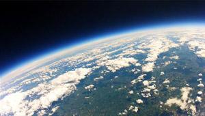 Stratosphäre Wolken