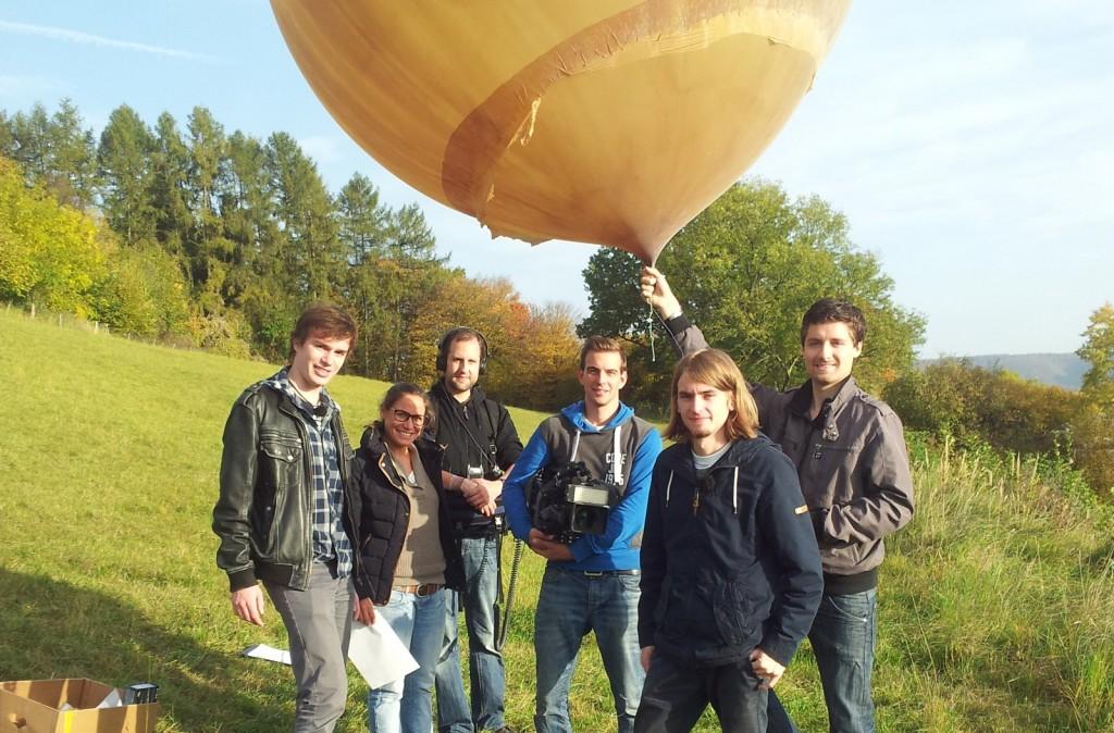 Start des Wetterballons