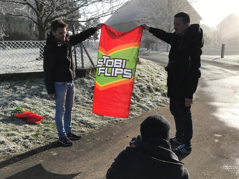 Stobi Flips Banner
