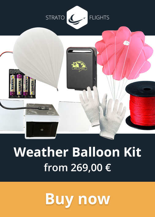 Stratoflights Weather Balloon Kit
