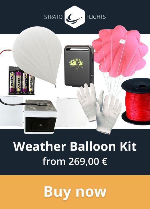 Stratoflights Weather Balloon Kit